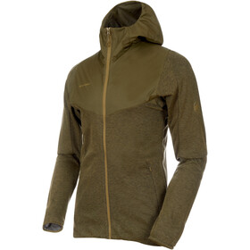 Mammut Alvra ML Hooded Jacket Men olive melange-olive